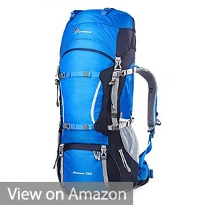 Mountaintop 70L+10L Outdoor Sport Water-resistant