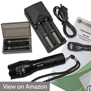 EcoGear FX Tactical Flashlight TK120