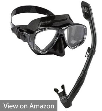 Italian Mask Dry Snorkel with Bag - Cressi