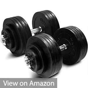 Yes4All Adjustable Dumbbells 105lbs