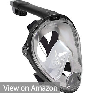 Deep Blue Gear Vista Vue Snorkeling Mask