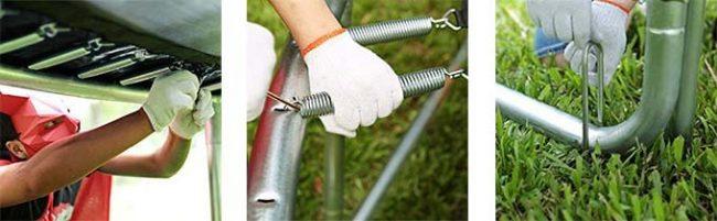 Zupapa 15 14 12 Ft Trampoline
