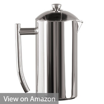 Frieling USA Double Wall Stainless Steel French Press Coffee Maker