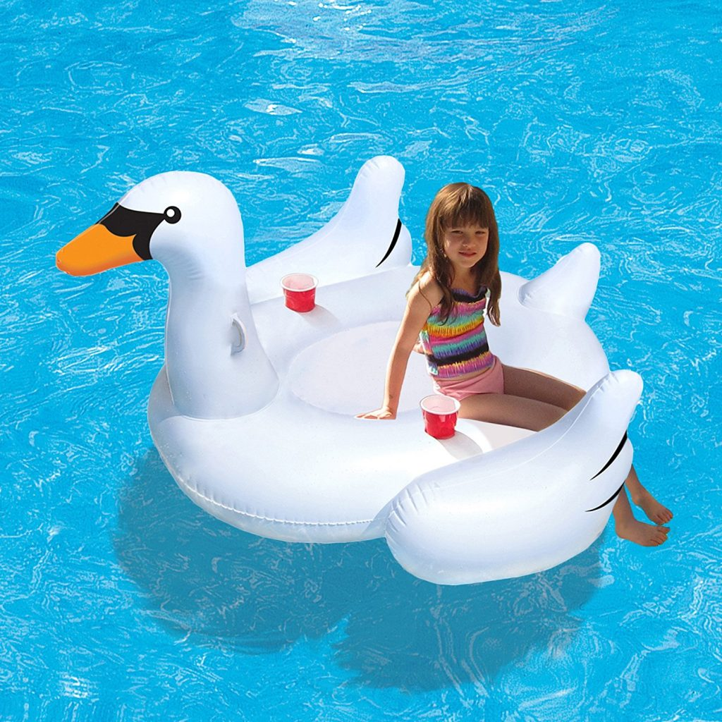 Swimline Giant Inflatatable Swan