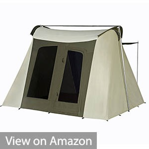 Kodiak Flex-Bow 6-Person Canvas Tent Deluxe
