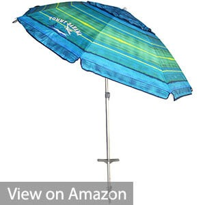 Tommy Bahama 7ft. Vented Fiberglass Beach Umbrella