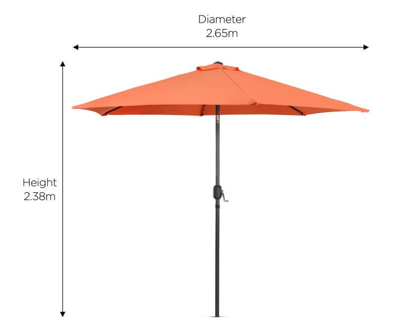 Depending On Your Intended Use For The Patio Umbrella: The Height Is  Another Important Feature To Consider. If You Are Planning To Use It For  Hosting ...