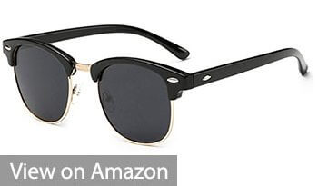 Joopin Semi Rimless Sunglasses
