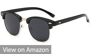 Joopin Semi Rimless Sunglasses