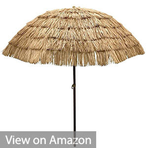 EasyGo - Thatch Patio Tiki Umbrella