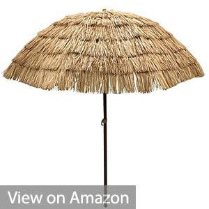 EasyGo - Thatch Patio Tiki Umbrella