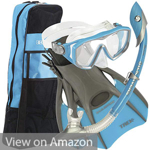 U.S. Divers Diva Women Snorkeling Set