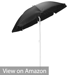 Picnic Time Outdoor Canopy Sunshade Umbrella 5.5'