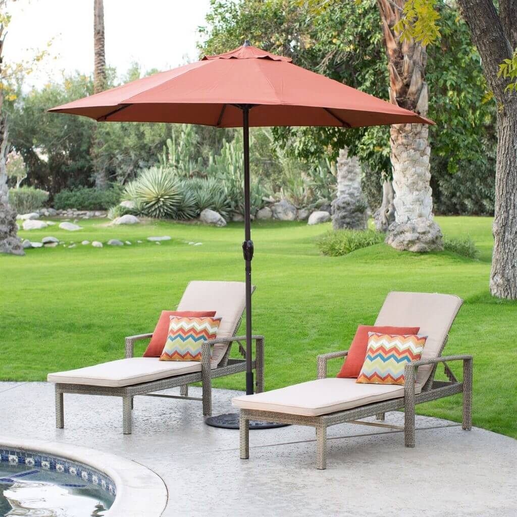 8 best patio umbrella reviews (update july 2018) - buyer's guide Best Patio Umbrella