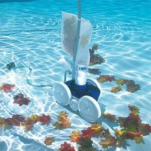 Pressure pool cleaner