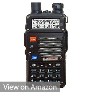 BF-F8HP Dual Band Two Way Radio