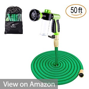 Sosoon 50ft Expanding Extra Stretch Garden Hose