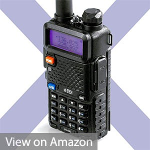 BTECH UV-5X3 Tri-Band Radio