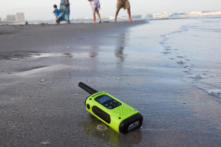 Water Resistant walk radio