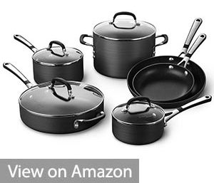 Simply Calphalon Cookware Set