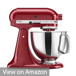 KitchenAid KSM150PSER 5 Qt. Artisan Series with Pouring Shield