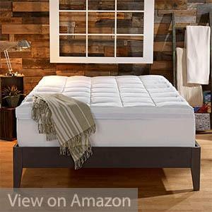 Sleep Innovations Dual Layer 4-inch Mattress Topper