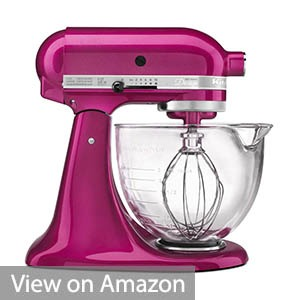 KitchenAid KSM155GBRI 5 Qt. Artisan Design Series with Glass Bowl