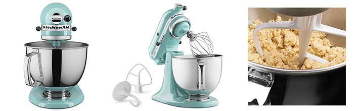 Details of KitchenAid KSM150PSAQ 5 Qt. Stand Mixers