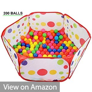 Click N' Play Pack of 200 Pit Balls