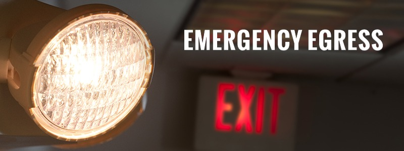emergency we need our illumination equipment