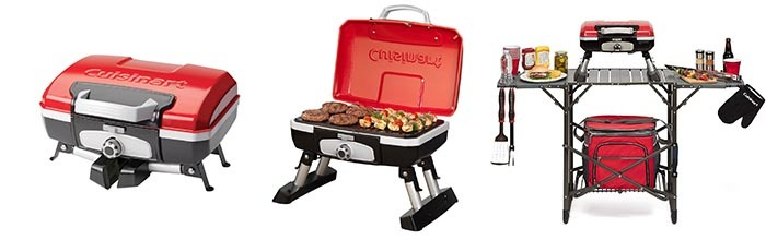 Details of Cuisinart CGG-180T Petit Gourmet Gas Grill