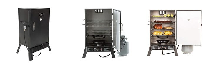 Details of Masterbuilt 20050211 Black Propane Smoker