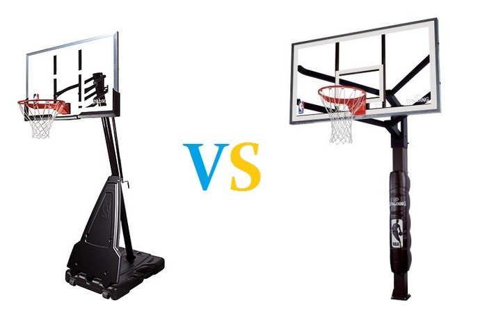 Portable Vs In Ground Basketball Hoops
