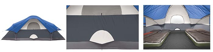 Details of Coleman 8-Person Tent for Camping