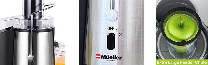 Details of Mueller Austria Juicer