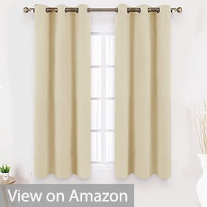 HOMEIDEAS Blackout Curtains