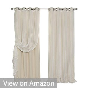 Best Home Fashion Mix & Match Blackout Curtain Set