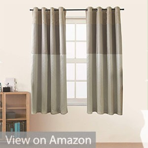 Jarl home Three-Color Stitching Blackout Curtains
