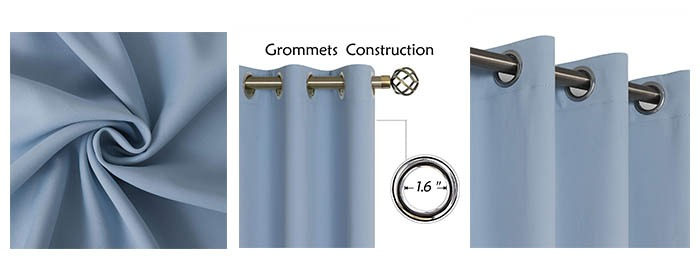 Details of BGment Blackout Curtains