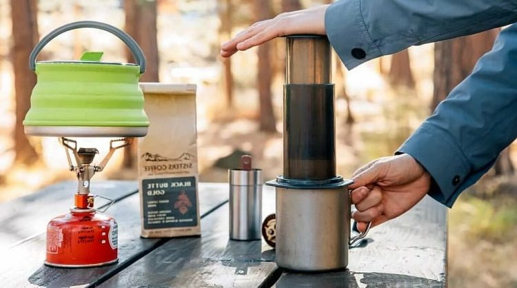 Are you searching for a portable coffee maker for camping?