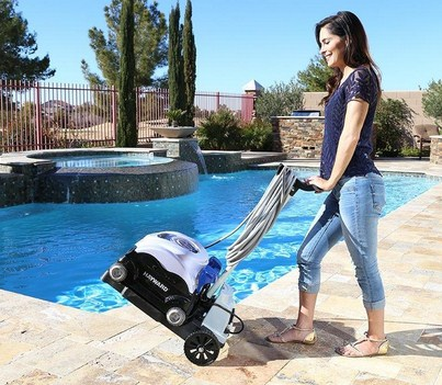 Caddy-for-pool-cleaner