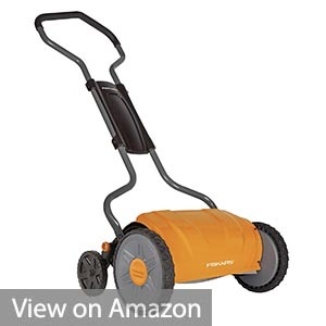 Fiskars 17 Inch Staysharp Push Reel Lawn Mower