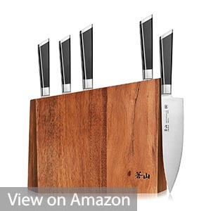 Cangshan Y2 Series 59212 6-Piece Knife Block Set