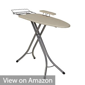 Household Essentials Wide Top 4-Leg Mega Pressing Station Ironing Board