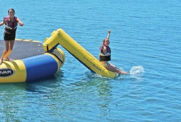 how to make water Trampoline