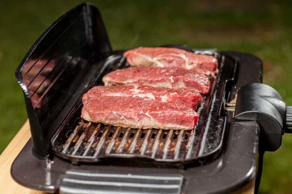 Preparing the Grill for Steak