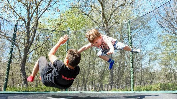 Outdoor-trampoline