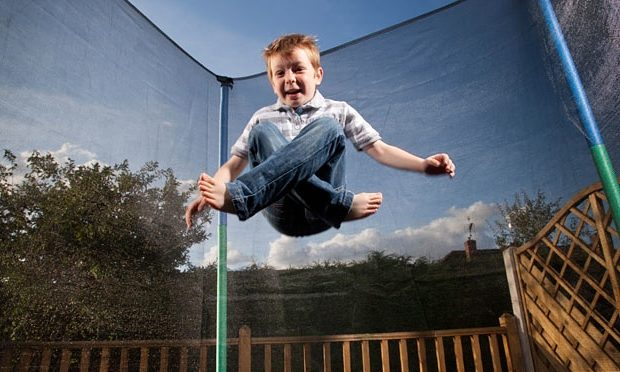 Train Your Kids to Play with Trampoline Safely