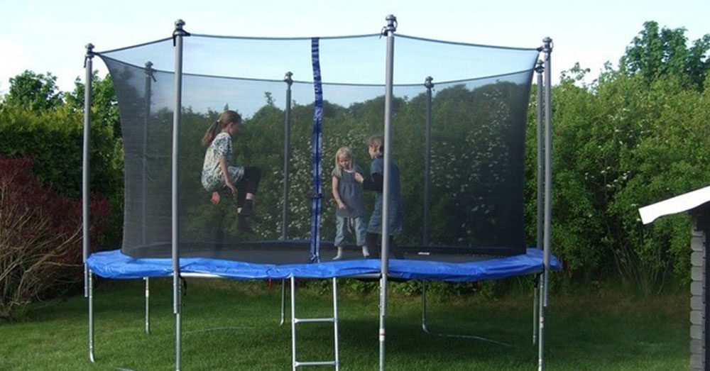 The Jumping Lifestyles Trampoline