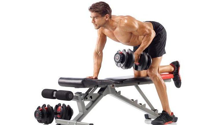 Bayou Fitness Pair of Adjustable Dumbbells